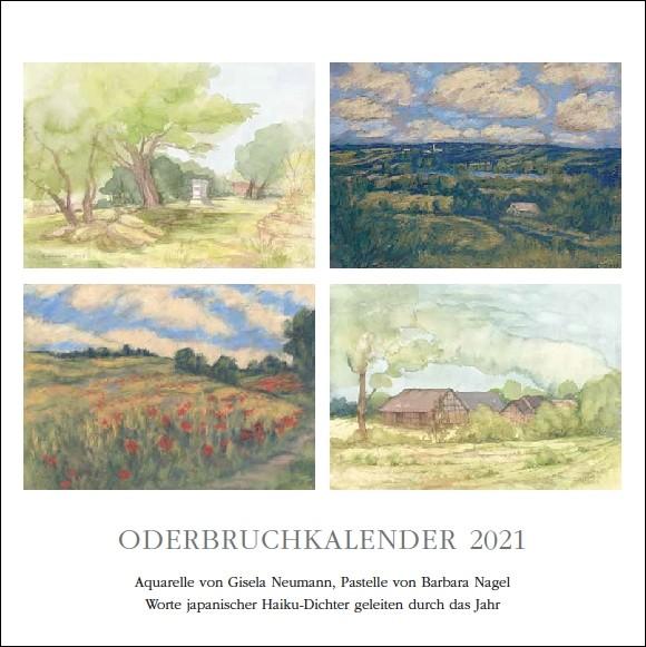 Titelblatt des Oderbruchkalenders 2020 von Gisela Neumann und Barbara Nagel