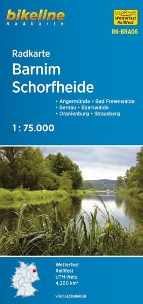 Radkarte Barnim - Schorfheide 1:75 000