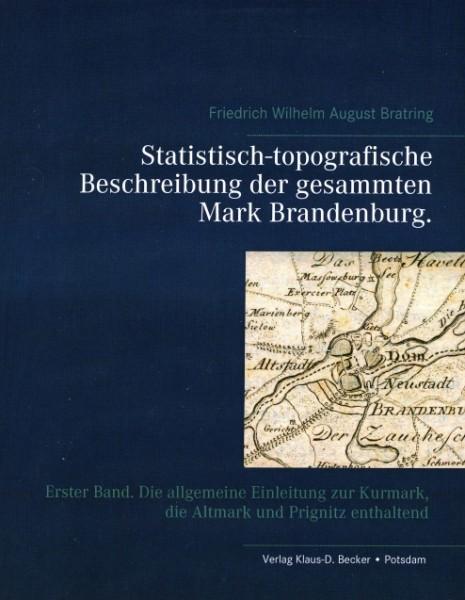 Statistisch-topografische Beschreibung der Mark Brandenburg Bd.1