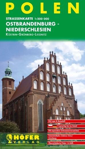 Ostbrandenburg-Niederschlesien 1:200 000