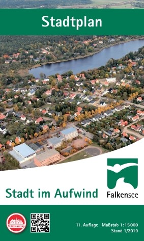 Stadtplan Falkensee 1:15 000