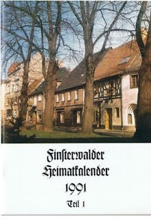 Finsterwalder Heimatkalender 1991, Teil1
