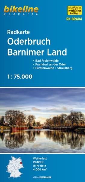 Radkarte Oderbruch - Barnimer Land 1:75 000