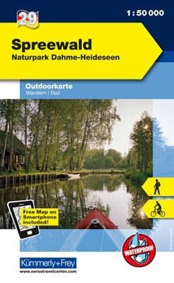 Outdoorkarte Spreewald / Naturpark Dahme-Heideseen