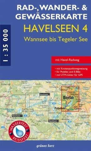 Havelseen 4 - Vom Wannsee zum Tegeler See