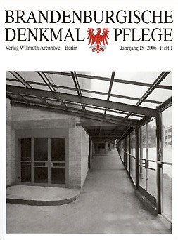 Brandenburgische Denkmalpflege 2006