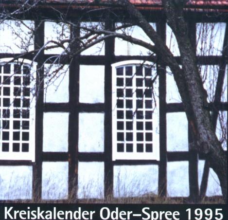 Kreiskalender Oder-Spree 1995