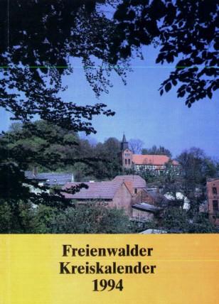 Freienwalder Kreiskalender 1994