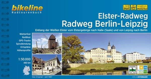 Ansicht des Radwanderführers Elster-Radweg