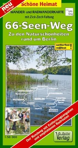 Wander- und Radwanderkarte 66-Seen-Weg