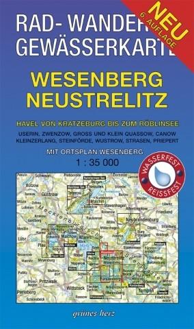 Wesenberg - Neustrelitz . Havel von Kratzeburg zum Ziernsee