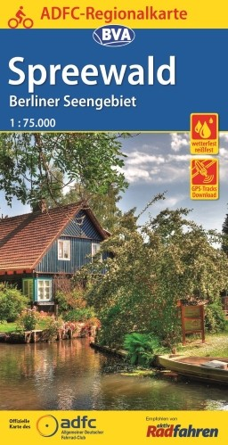 Spreewald / Berliner Seengebiet 1:75 000
