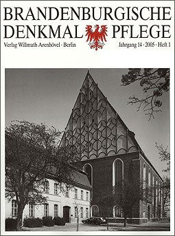Brandenburgische Denkmalpflege 2005 - Heft 1