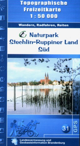 Top. Freizeitkarte Naturpark Stechlin-Ruppiner Land Süd