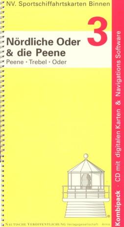 Sportschifffahrtskarten Binnen, Band 3 - Nördliche Oder u. Peene