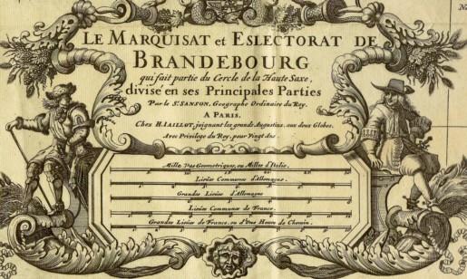 Die Markschaft und das Kurfürstentum Brandenburg (1696)