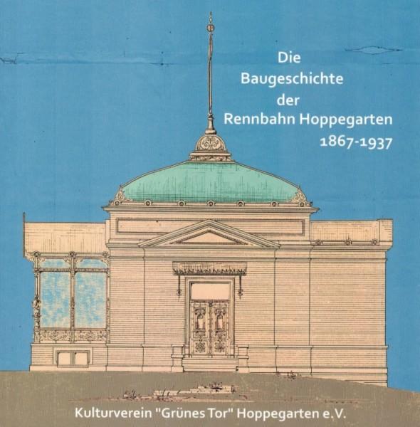 Cover des Buches Die Baugeschichte der Rennbahn Hoppegarten