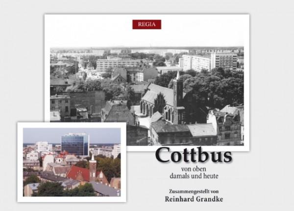 Cottbus von oben - damals und heute