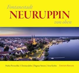 Fontanestadt Neuruppin von oben