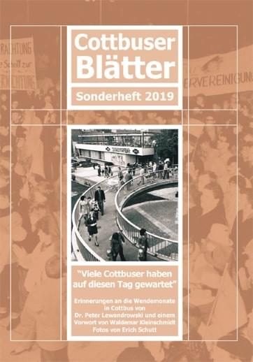 Cottbuser Blätter - Sonderheft 2019