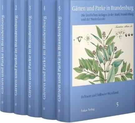 Gärten und Parke in Brandenburg (5 Bände)