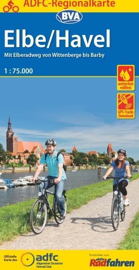 ADFC-Regionalkarte Elbe / Havel 1:75 000
