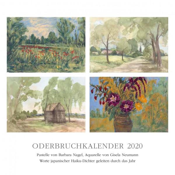 Oderbruchkalender 2020 - Aquarelle und Pastelle