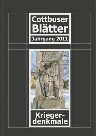 Kriegerdenkmale - Cottbuser Blätter - Jahrgang 2011
