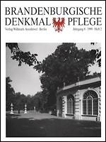 Brandenburgische Denkmalpflege 1999