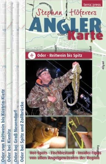 Stephan Höferers Angler-Karte 4 - Odergebiet Reitwein bis Spitz