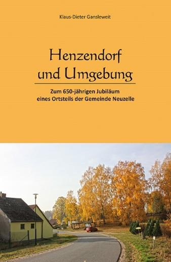 Vorderseite der Ortschronik von Henzendorf bei Neuzelle