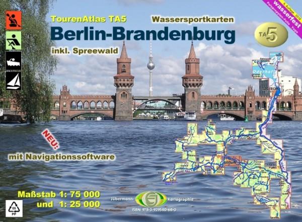 Tourenatlas Wasserwandern Berlin-Brandenburg TA5