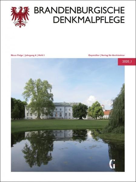 Vorderansicht der Brandenburgischen Denkmalpflege 2020 - Heft 1