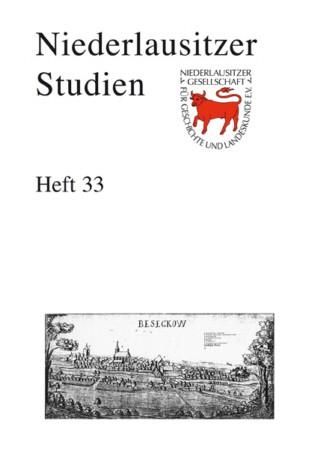 Niederlausitzer Studien - Heft 33 / 2006