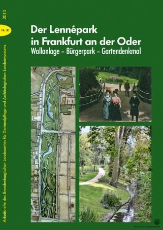 Der Lennépark in Frankfurt an der Oder