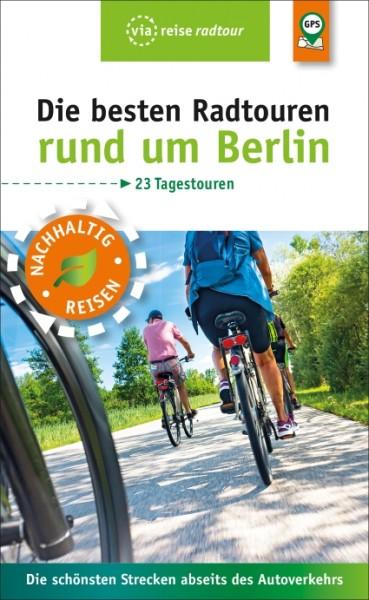 """Titelbild des Radführers """"Die besten Radtouren rund um Berlin"""""""