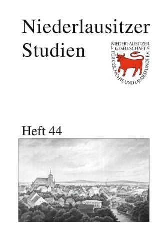 Niederlausitzer Studien - Heft 44
