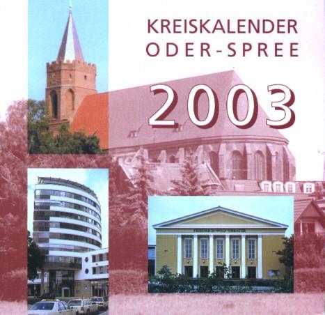 Kreiskalender Oder-Spree 2003
