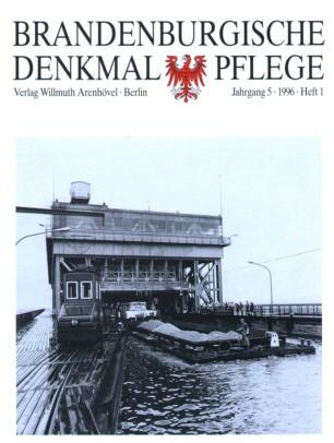 Brandenburgische Denkmalpflege 1996 - Heft 1
