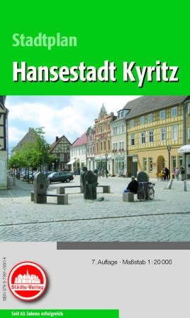 Stadtplan Kyritz 1:20 000 mit Anzeigen