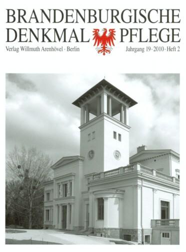 Brandenburgische Denkmalpflege 2010 - Heft 2