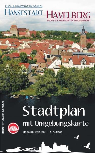 Stadtplan Hansestadt Havelberg mit Anzeigen
