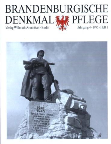 Brandenburgische Denkmalpflege 1995 - Heft 1