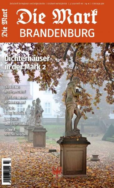 """Vorderansicht von Heft 118 der Zeitschrift """"Die Mark Brandenburg"""""""