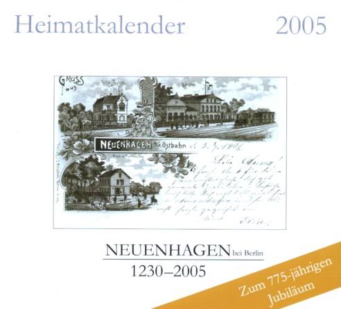 Heimatkalender Neuenhagen b. Berlin 2005