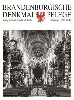 Brandenburgische Denkmalpflege 1993 - Heft 2