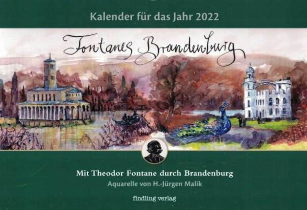 Fontanes Brandenburg - Kalender 2022