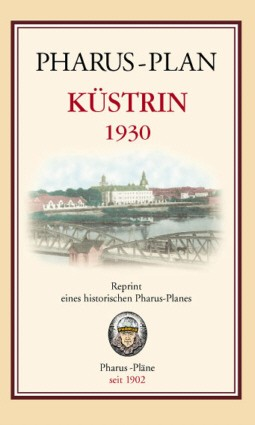 Pharus-Plan Küstrin 1930