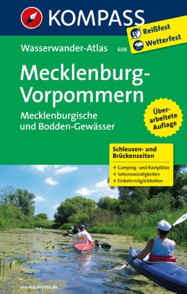 Wasserwander-Atlas Mecklenburg-Vorpommern