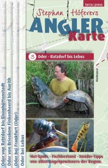Stephan Höferers Angler-Karte 3 - Odergebiet Ratzdorf bis Lebus